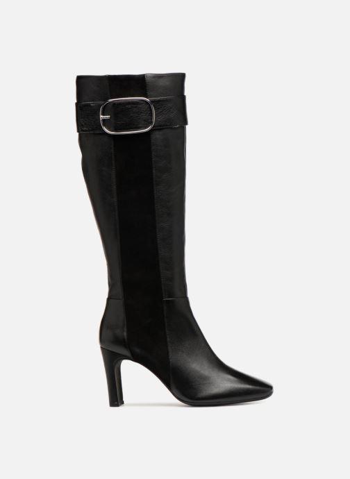 Boots & wellies Geox D VIVYANNE HIGH B D849SB Black back view