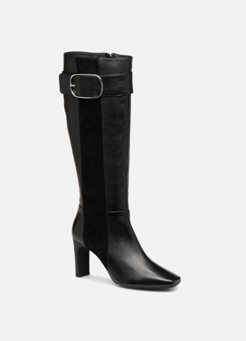 Boots & wellies Geox D VIVYANNE HIGH B D849SB Black detailed view/ Pair view