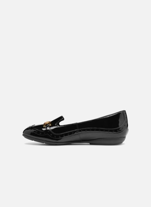 Loafers Geox D ANNYTAH A D847NA Black front view