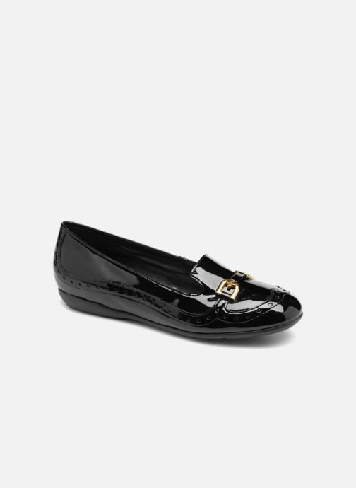 Loafers Geox D ANNYTAH A D847NA Black detailed view/ Pair view