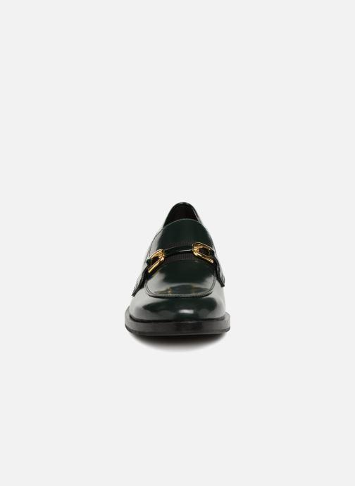 Mocassins Geox D DONNA BROOGUE A D842UA Vert vue portées chaussures