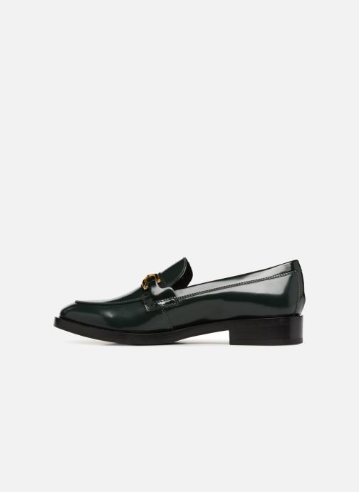 Loafers Geox D DONNA BROOGUE A D842UA Green front view