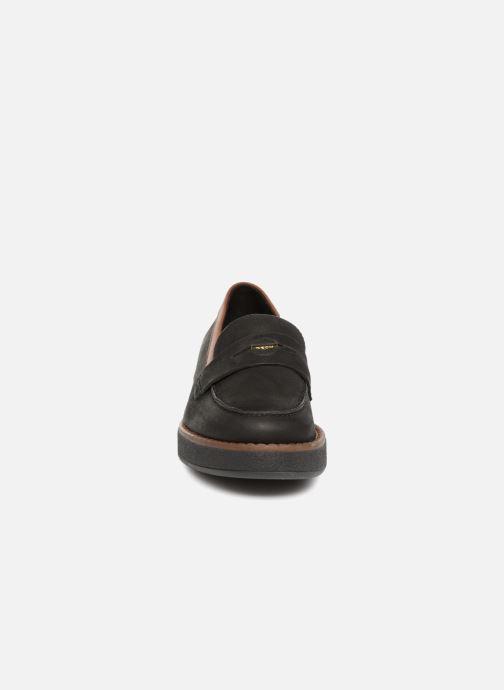 Mocassins Geox D ADRYA E D849TE Noir vue portées chaussures