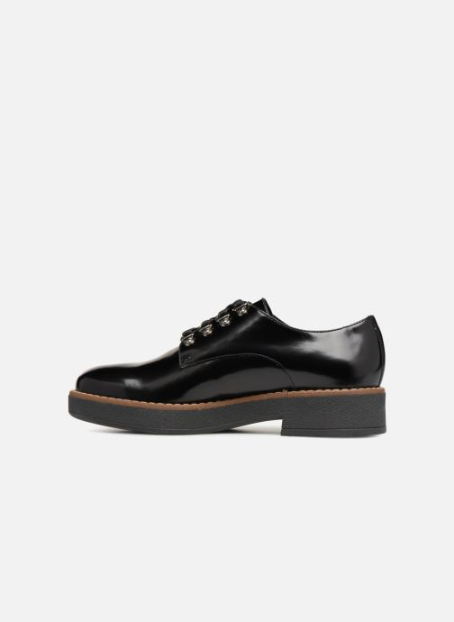 Zapatos con cordones Geox D ADRYA C D849TC Negro vista de frente