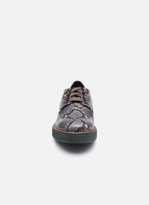 Chaussures à lacets Geox D ADRYA C D849TC Gris vue portées chaussures