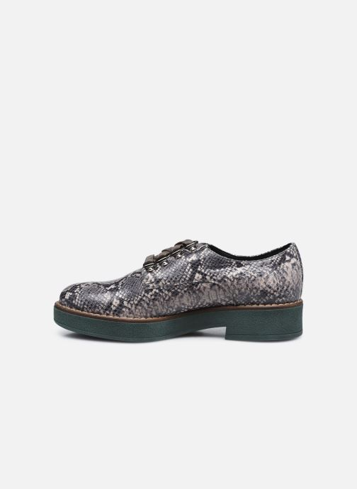 Chaussures à lacets Geox D ADRYA C D849TC Gris vue face
