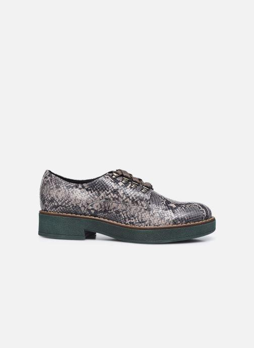 Chaussures à lacets Geox D ADRYA C D849TC Gris vue derrière