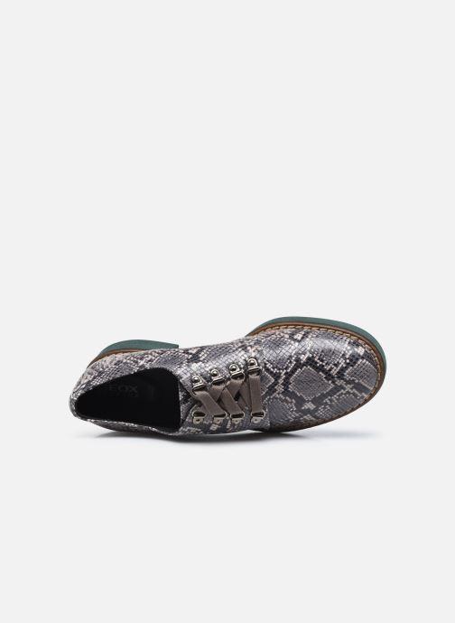 Chaussures à lacets Geox D ADRYA C D849TC Gris vue gauche