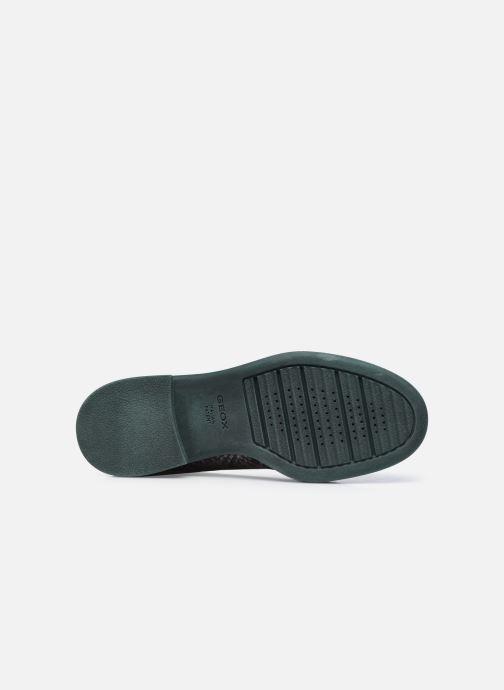 Chaussures à lacets Geox D ADRYA C D849TC Gris vue haut