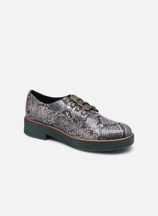 Chaussures à lacets Geox D ADRYA C D849TC Gris vue détail/paire