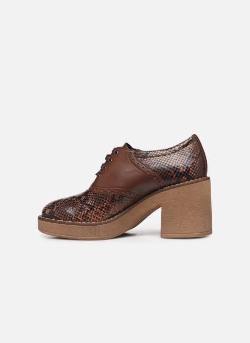 Chaussures à lacets Geox D ADRYA MID A D849UA Marron vue face