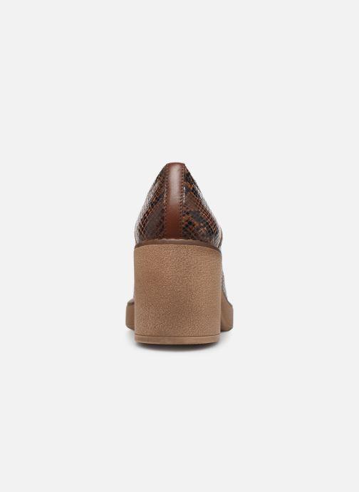 Chaussures à lacets Geox D ADRYA MID A D849UA Marron vue droite