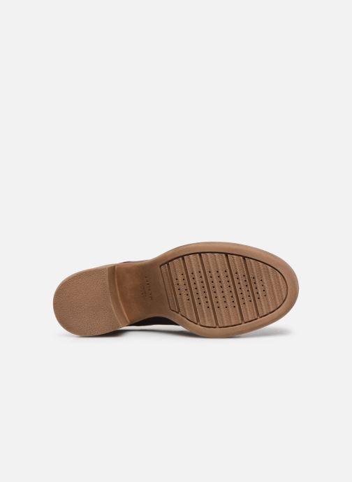 Chaussures à lacets Geox D ADRYA MID A D849UA Marron vue haut
