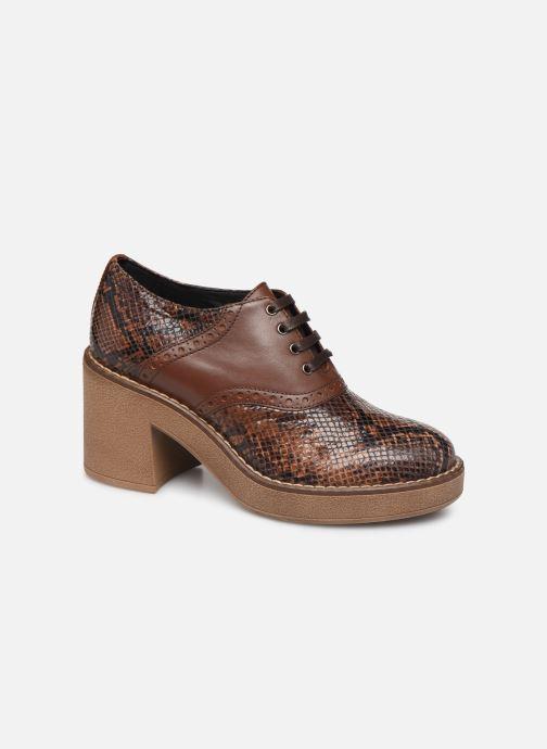 Zapatos con cordones Geox D ADRYA MID A D849UA Marrón vista de detalle / par