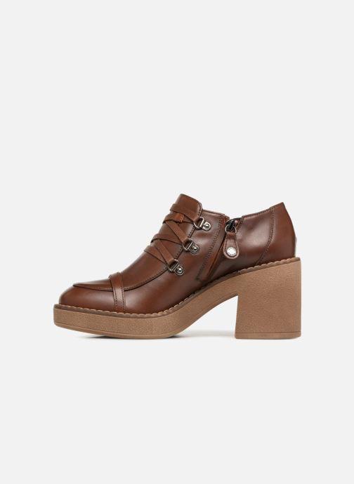 Zapatos con cordones Geox D ADRYA MID D D849UD Marrón vista de frente
