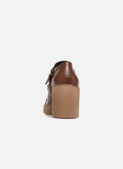 Zapatos con cordones Geox D ADRYA MID D D849UD Marrón vista lateral derecha
