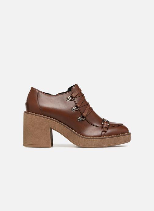Zapatos con cordones Geox D ADRYA MID D D849UD Marrón vistra trasera
