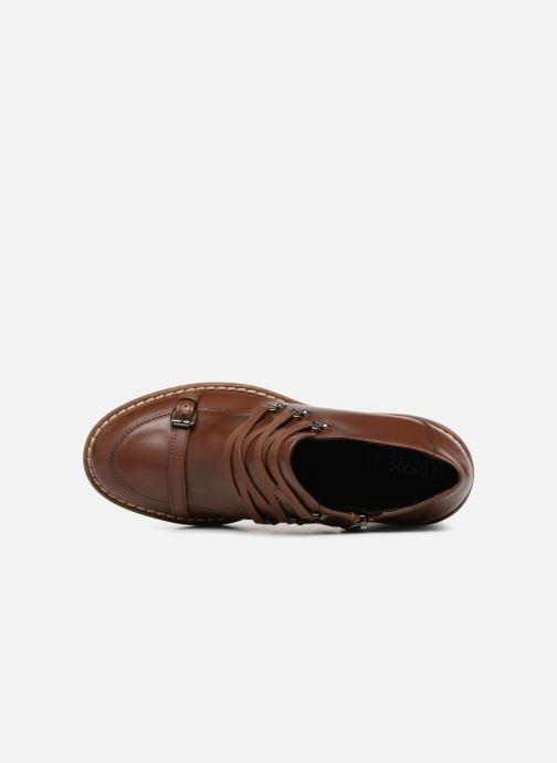 Zapatos con cordones Geox D ADRYA MID D D849UD Marrón vista lateral izquierda