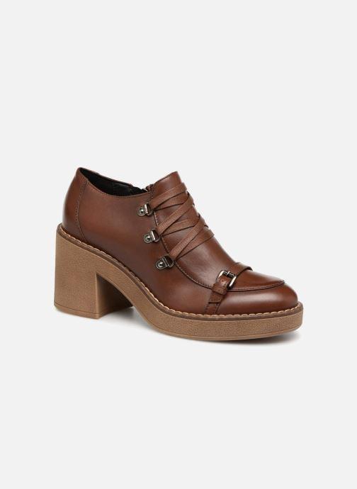 Zapatos con cordones Geox D ADRYA MID D D849UD Marrón vista de detalle / par