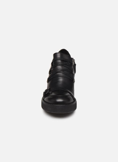 Chaussures à lacets Geox D ADRYA MID D D849UD Noir vue portées chaussures