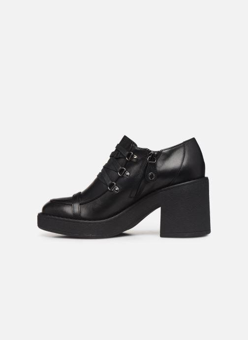 Chaussures à lacets Geox D ADRYA MID D D849UD Noir vue face