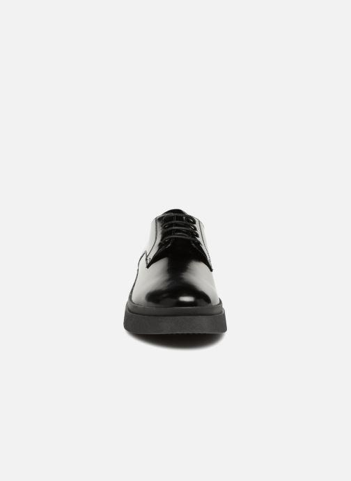 Schnürschuhe Geox D MYLUSE A D849WA schwarz schuhe getragen