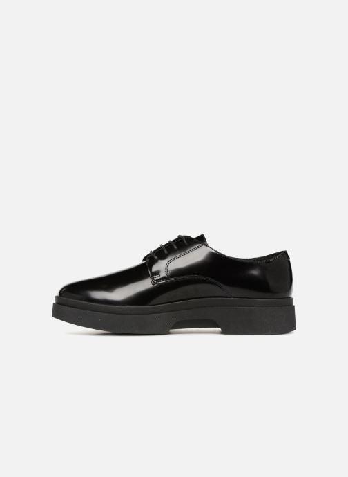 Chaussures à lacets Geox D MYLUSE A D849WA Noir vue face