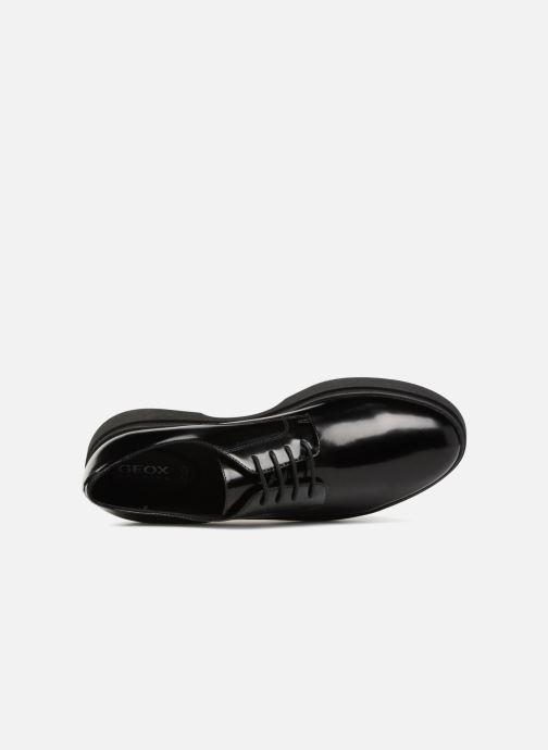 Chaussures à lacets Geox D MYLUSE A D849WA Noir vue gauche