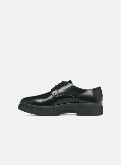 Chaussures à lacets Geox D MYLUSE A D849WA Vert vue face