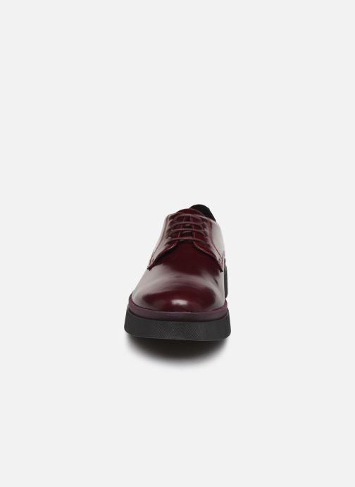 Chaussures à lacets Geox D MYLUSE A D849WA Bordeaux vue portées chaussures