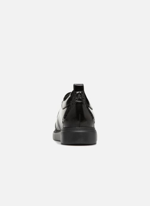 Zapatos con cordones Geox D THYMAR F D844BF Negro vista lateral derecha
