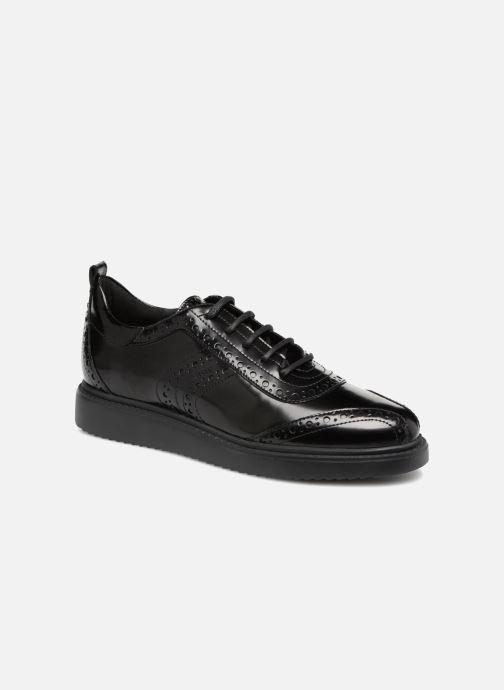 Zapatos con cordones Geox D THYMAR F D844BF Negro vista de detalle / par