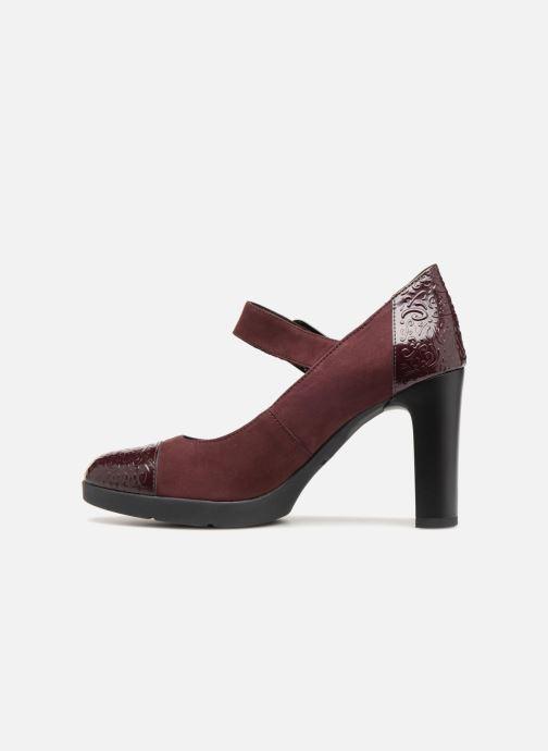 Zapatos de tacón Geox D ANNYA HIGH B D84AEB Vino vista de frente