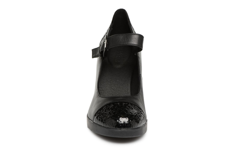 Escarpins Geox D ANNYA HIGH B D84AEB Noir vue portées chaussures