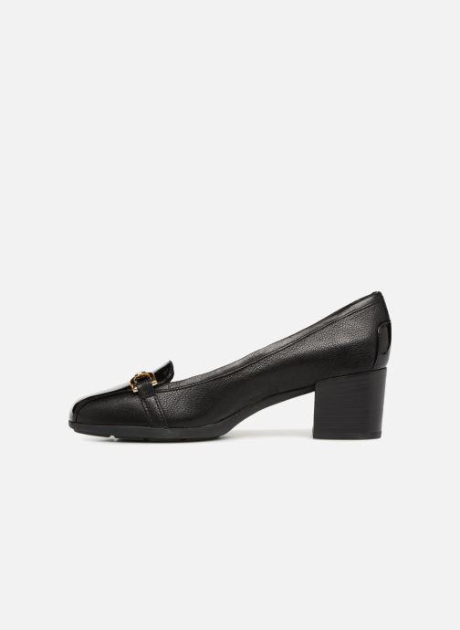 High heels Geox D ANNYA MID C D845VC Black front view