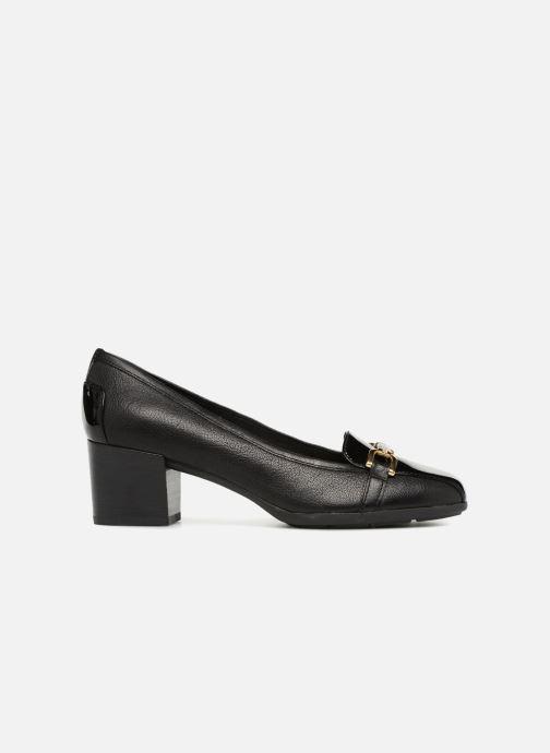 High heels Geox D ANNYA MID C D845VC Black back view