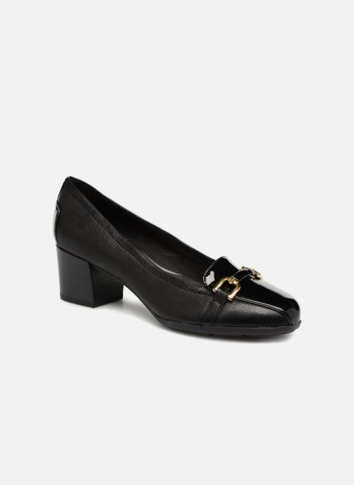 High heels Geox D ANNYA MID C D845VC Black detailed view/ Pair view