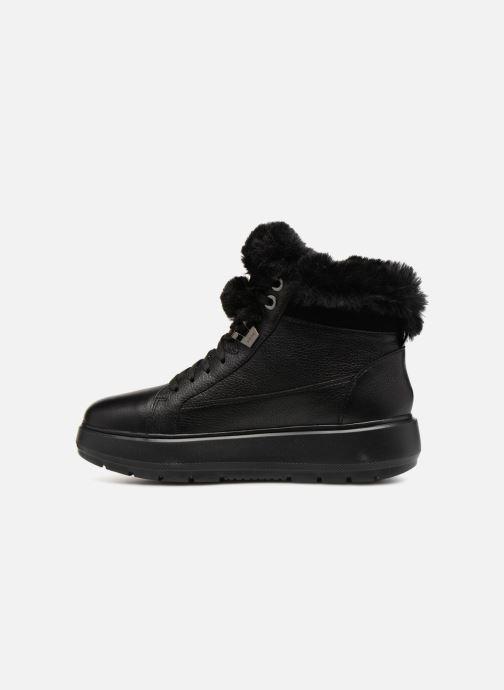 Sneaker Geox D KAULA B ABX D D84AWD schwarz ansicht von vorne