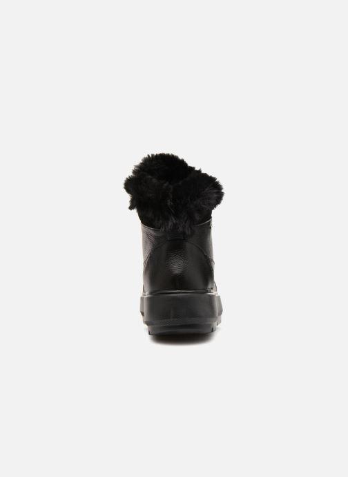 Sneaker Geox D KAULA B ABX D D84AWD schwarz ansicht von rechts