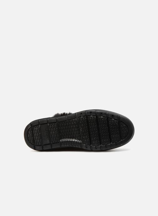 Sneaker Geox D KAULA B ABX D D84AWD schwarz ansicht von oben