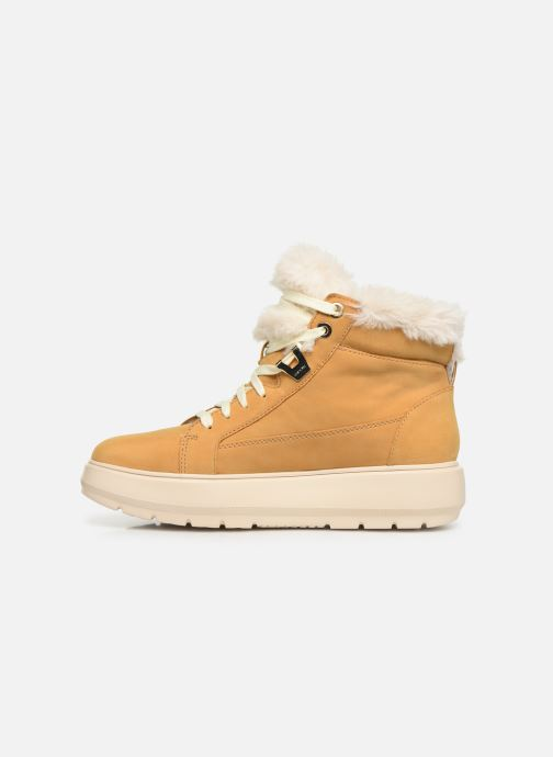 Sneaker Geox D KAULA B ABX D D84AWD gelb ansicht von vorne
