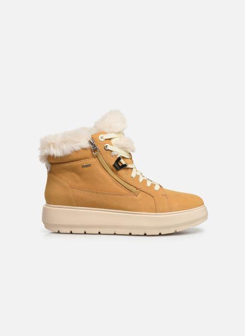 Sneaker Geox D KAULA B ABX D D84AWD gelb ansicht von hinten
