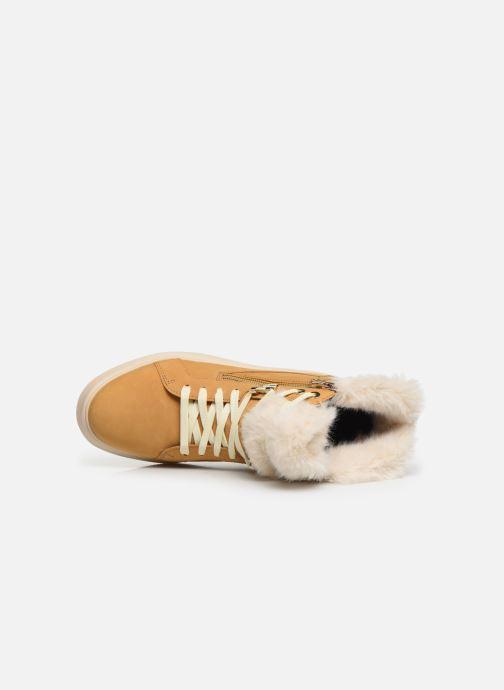 Sneaker Geox D KAULA B ABX D D84AWD gelb ansicht von links