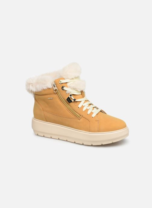 Trainers Geox D KAULA B ABX D D84AWD Yellow detailed view/ Pair view