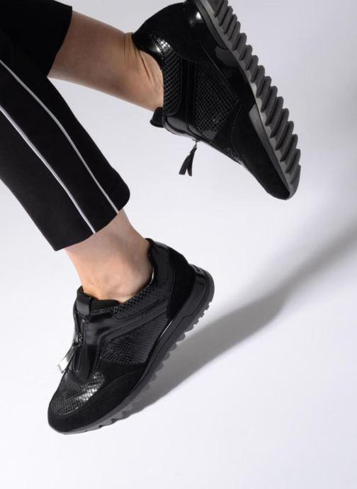 Sneakers Geox D TABELYA A D84AQA Zwart onder