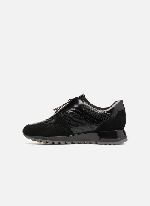 Sneakers Geox D TABELYA A D84AQA Zwart voorkant