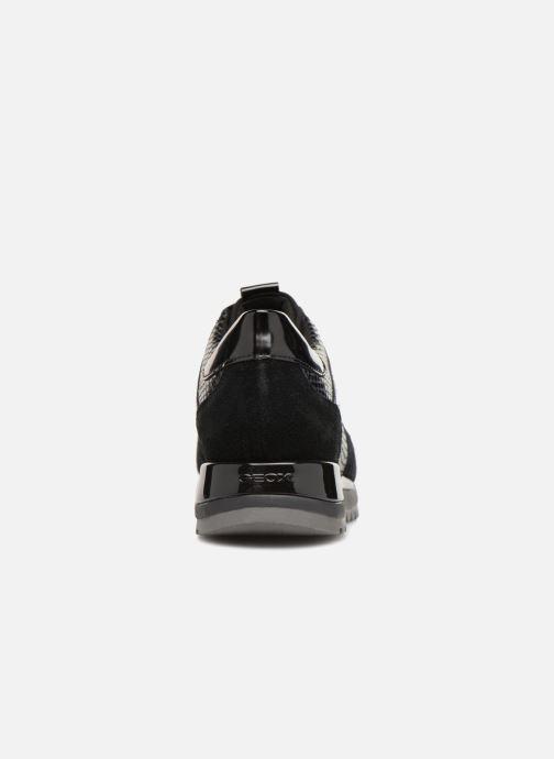 Baskets Geox D TABELYA A D84AQA Noir vue droite