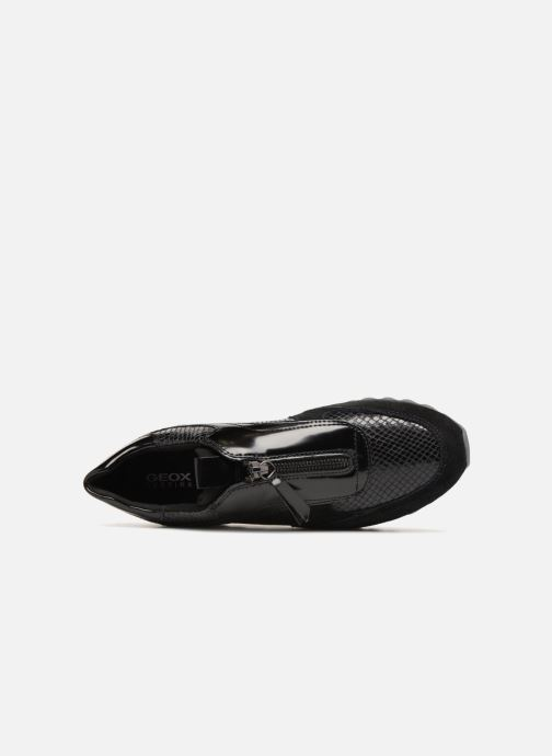 Sneakers Geox D TABELYA A D84AQA Zwart links