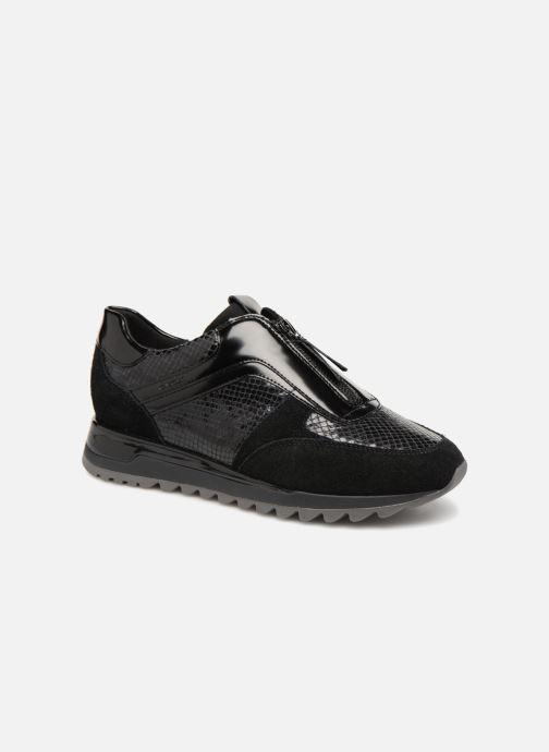Sneakers Geox D TABELYA A D84AQA Zwart detail