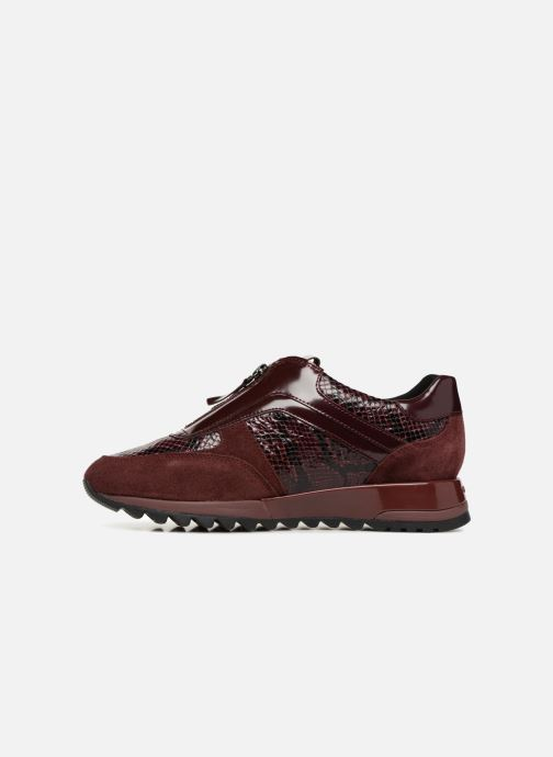 Trainers Geox D TABELYA A D84AQA Burgundy front view